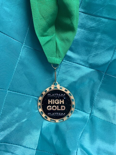 High Gold Medal