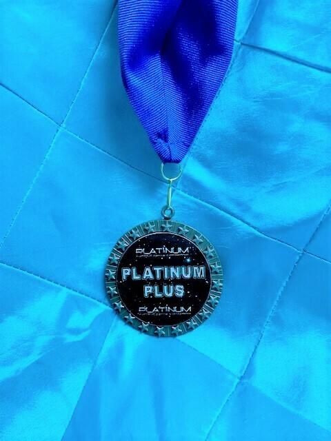 Platinum Plus Medal