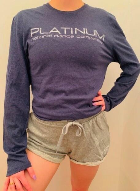 Heather Navy Tshirt