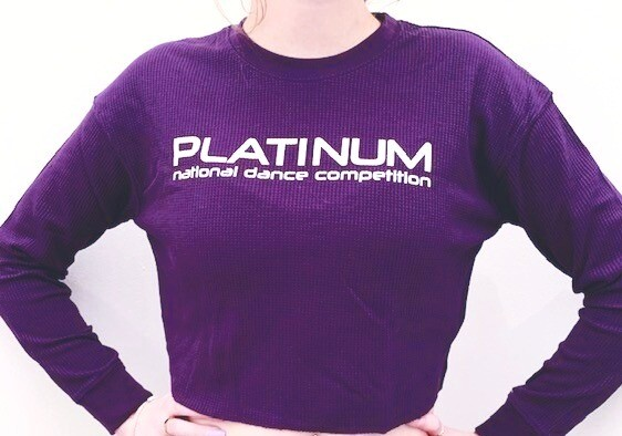 Cropped Thermal Long Sleeve