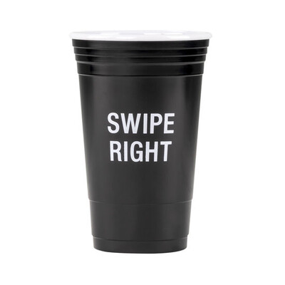 Swipe Right Party Cup