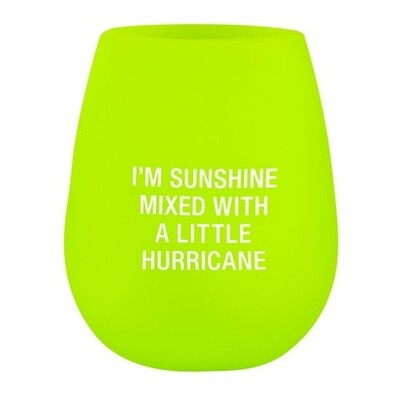 Hurricane Silicone Wine Glass