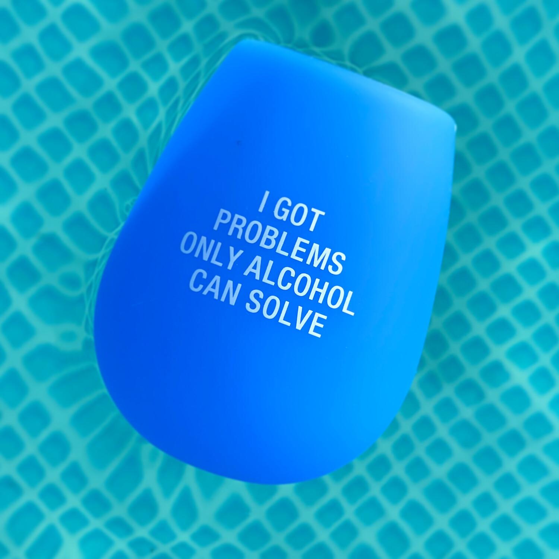 Problems Silicone Wine Glass