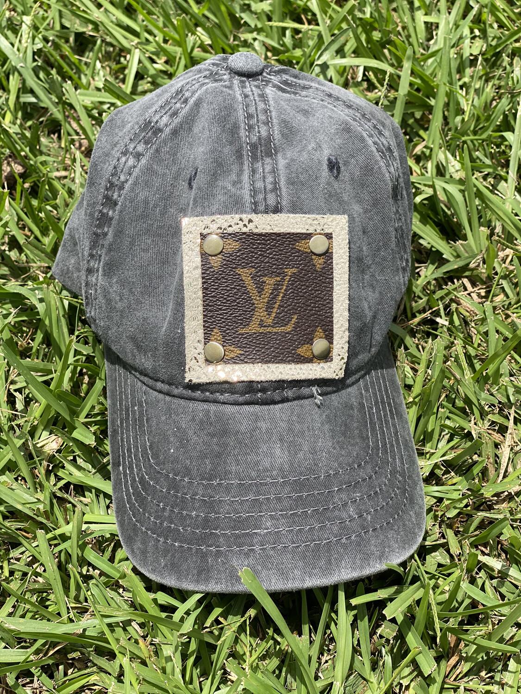 LV Upcycled Game Day Baseball Cap