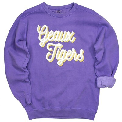 Geaux Tigers Pull Over