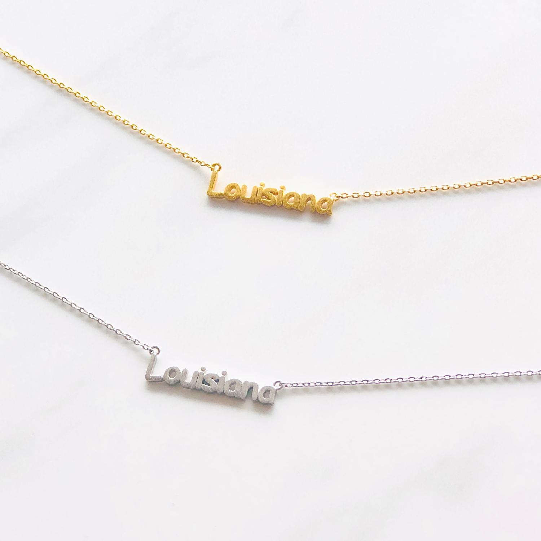 Louisiana Dainty Necklace
