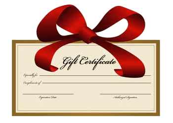 Gift Certificate ($20 - $500)