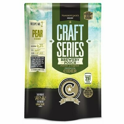 Mangrove Jack's Craft Pear Cider Pouch
