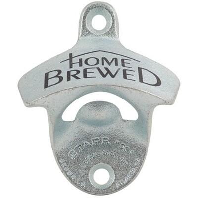Wall Mount Bottle Opener - Home Brewed
