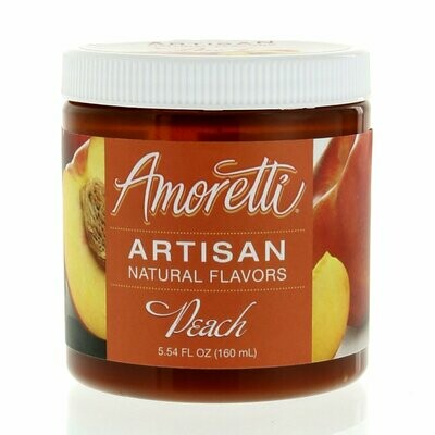 Amoretti Natural Peach Artisan Flavor (8 oz)