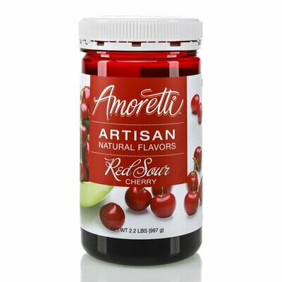 Amoretti Natural Red Sour Cherry Artisan Flavor (8 oz)