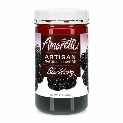Amoretti Natural Blackberry Artisan Flavor  (8 oz)