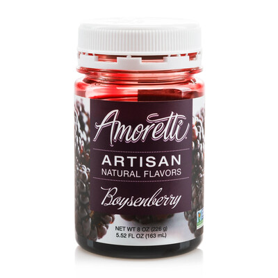 Amoretti Natural Boysenberry Artisan Flavor (8 oz)