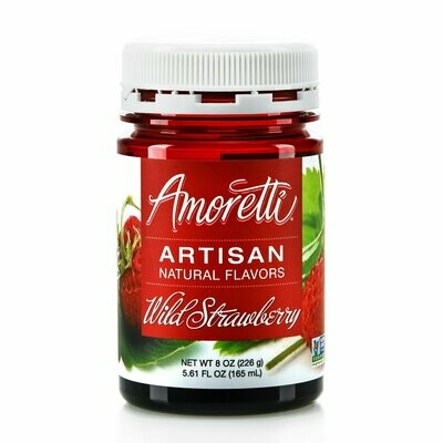 Amoretti Natural Wild Strawberry Artisan Flavor (8 oz)