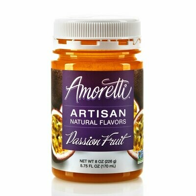 Amoretti Natural Passion Fruit Artisan Flavor (8 oz)