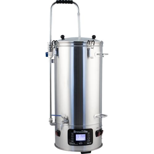 BrewZilla V3.1 All Grain Brewing System With Pump - 35L/9.25G (220V)