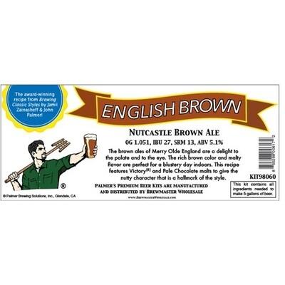 Nutcastle Northern English Brown Ale (5 Gallon Extract)