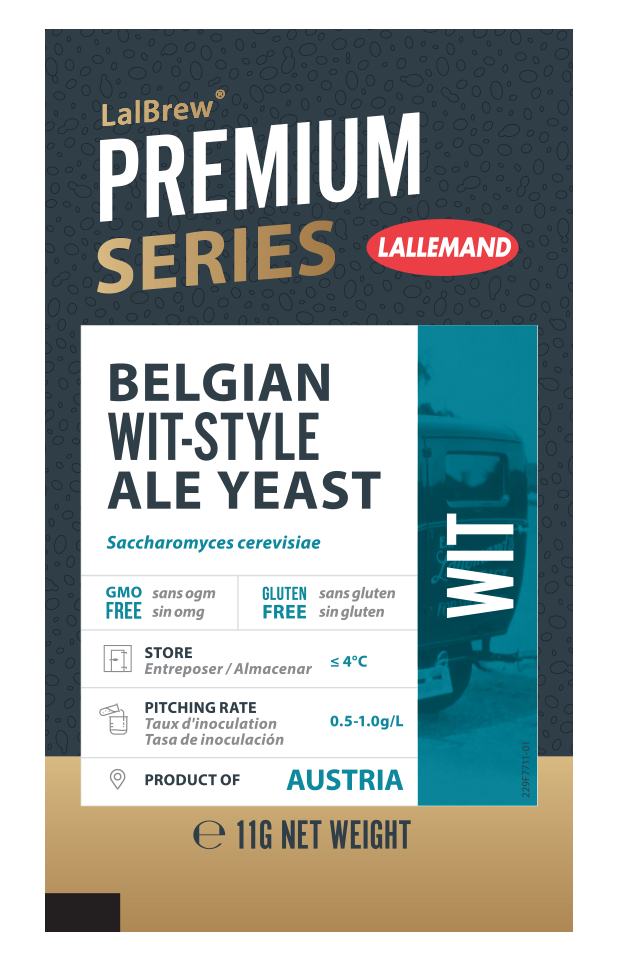 LalBrew Wit Belgian Wit-Style Ale Yeast