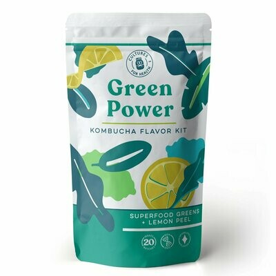 Green Power Kombucha Flavor Kit