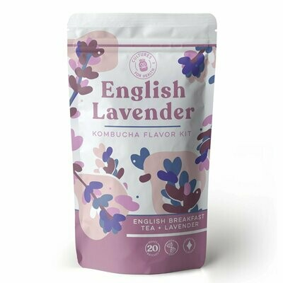 English Lavender Kombucha Flavor Kit