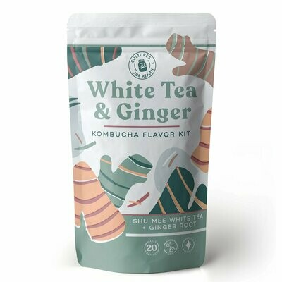 White Tea & Ginger Kombucha Flavor Kit