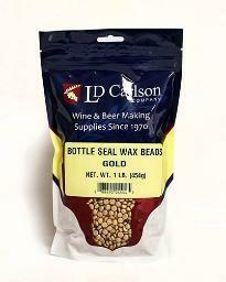 Gold Bottle Seal Wax Beads (1 lb)