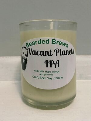 Vacant Planets IPA Soy Craft Beer Candle (2.5 oz)