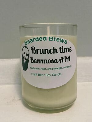 Brunch Time Beermosa APA Soy Craft Beer Candle (2.5 oz)