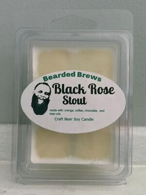 Black Rose Stout Soy Craft Beer Wax Melts