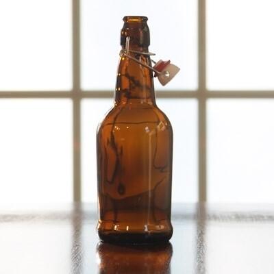 500 mL FLip Top Bottle (Brown) - Single