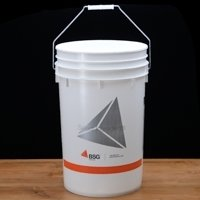 6.5 Gallon Bucket with Lid (Hole & Grommet)
