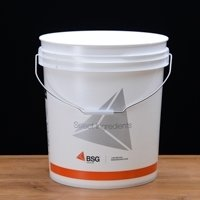 7.8 Gallon Bucket with Lid (Hole & Grommet)