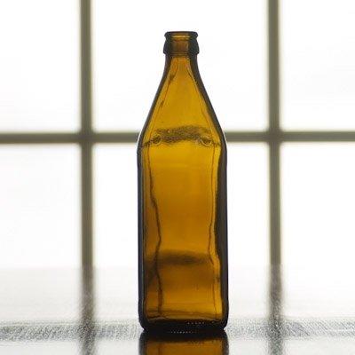 16 oz (500 mL) Amber Belgian Beer Bottles (Case of 12)