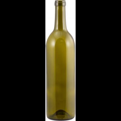 Antique Green Wine Bottles 750 mL (Case of 12)