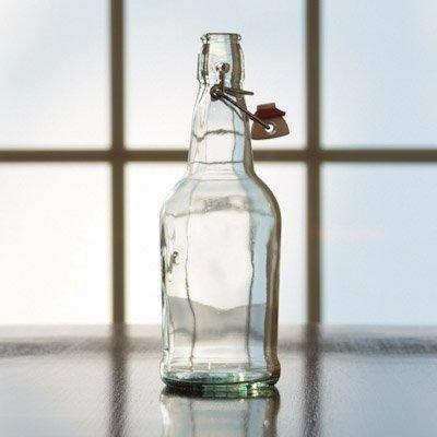 500 mL FLip Top Bottle (Clear) - Single