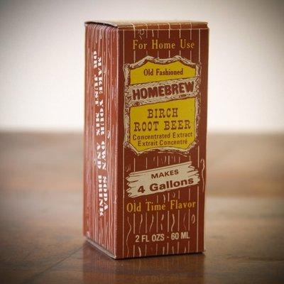 Birch Beer Soda Extract (2 fl oz)