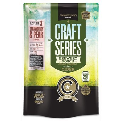 Mangrove Jack's Craft Strawberry & Pear Cider Pouch