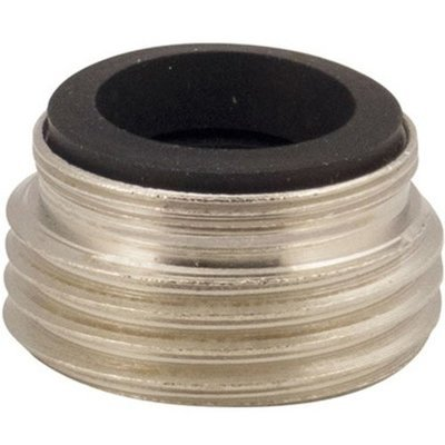 Nickel Plated Brass Faucet to Hose Adapter