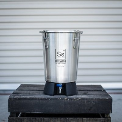 Brew Bucket Stainless Steel Fermenter - 3.5 gal.