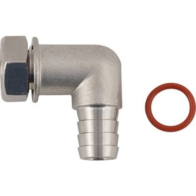 Blow Off Barb for Ss BrewTech Fermenter Lids - 1/2 in. Elbow