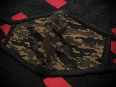 ◆忍者マスク(Camouflage Brown) NINJA MASK
