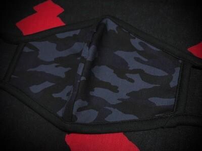 ◆忍者マスク(Camouflage Blue) NINJA MASK