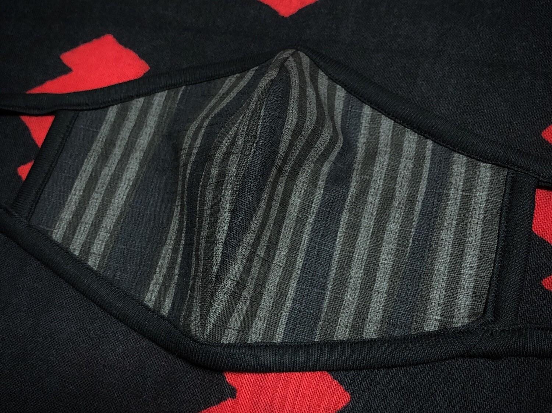 ◆忍者マスク(sibu-KURO)定番柄 NINJA MASK