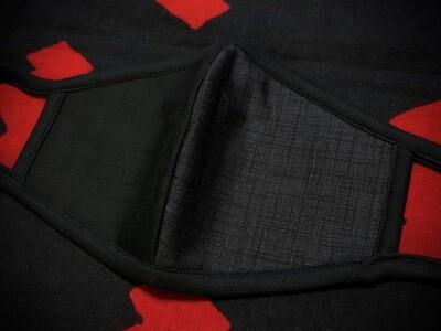 ◆忍者マスク(Black/Gray) NINJA MASK