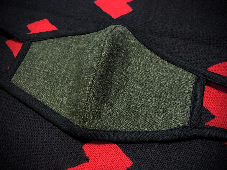 ◆忍者マスク(GREEN-shimofuri-) NINJA MASK