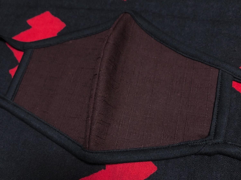 ◆忍者マスク(DEEP RED) NINJA MASK