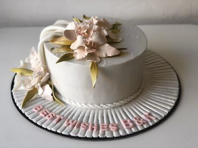 Floral Cake -3D