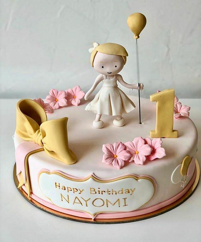 Baby Girl Cake - 3D