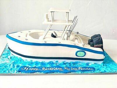 Yacht Lover's cake