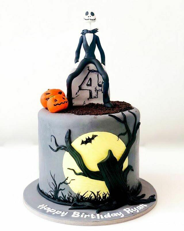 Halloween Theme Cake